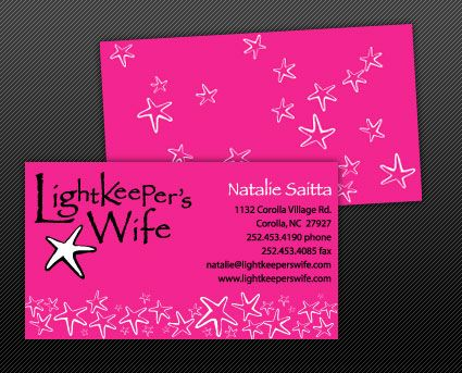 Lightkeeper's Wife Business Card
