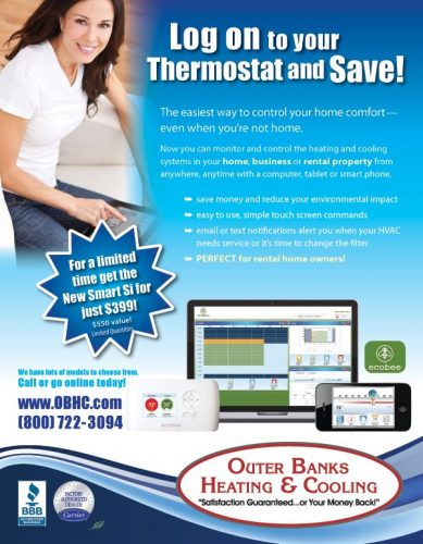 Outer Banks Heating & Cooling Flyer