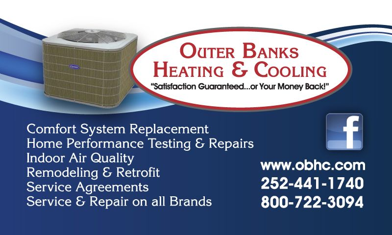 Outer Banks Heating & Cooling Magnet
