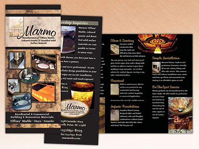 Marmo Trifold Brochure