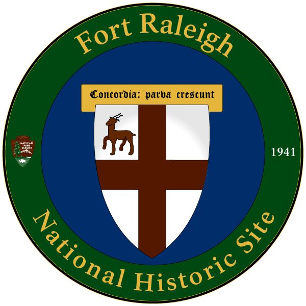 National Park Service - Fort Raleigh National Historic Site Logo