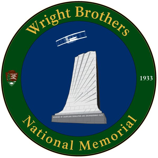National Park Service - Wright Brothers National Monument Logo