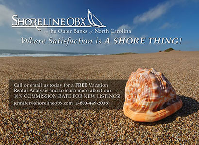 Shoreline OBX Postcard Front