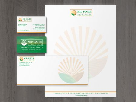 Mid South Land Group Stationery Set
