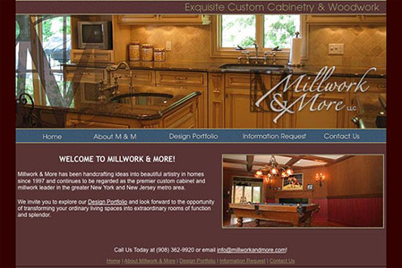 Millwork & More Website