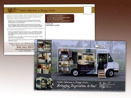 Millwork & More Mobile Showroom Postcard