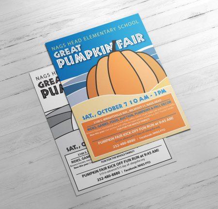Nags Head Pumpkin Fair Flier