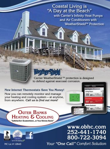 Outer Banks Heating and Cooling Magazine Ad