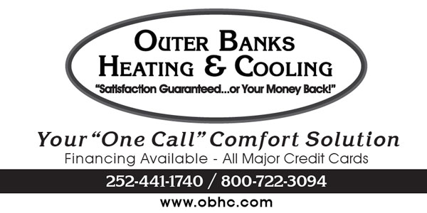 Outer Banks Heating and Cooling Phone Book Ad