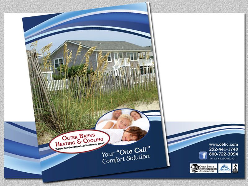 Outer Banks Heating & Cooling Presentation Folder