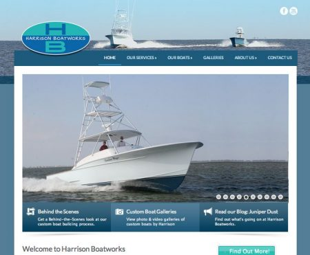 Harrison Boatworks Website