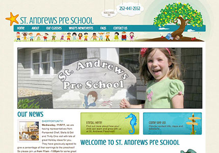 St. Andrews Preschool Website