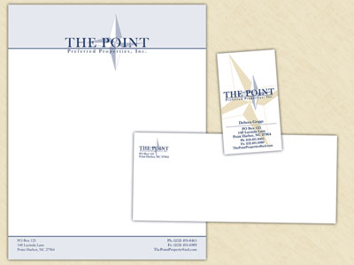 The Point Preferred Properties Stationery Set