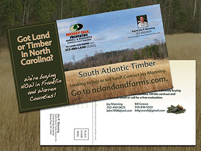 MOP South Atlantic Timber Postcard