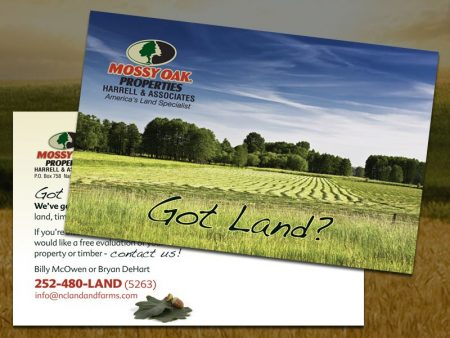 Mossy Oak Properties Postcard