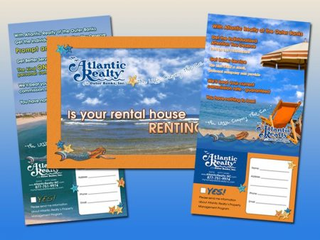 Atlantic Realty Postcard Campaign