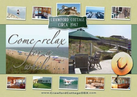 Crawford Cottage Postcard