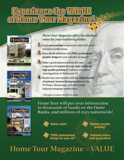 Home Tour Fullpage Ad