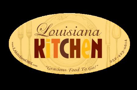 Louisiana Kitchen Product Label