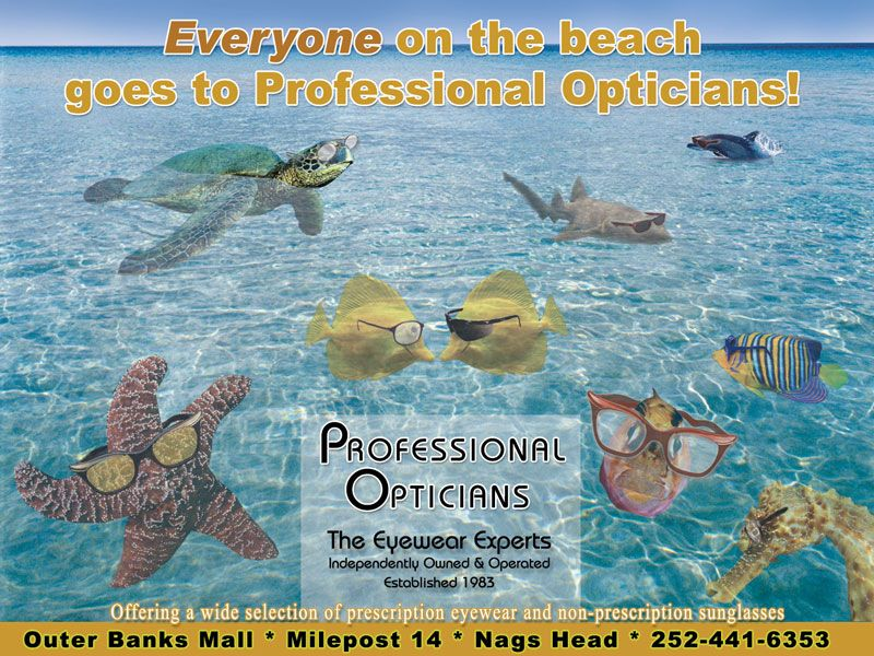 Professional Opticians Ads