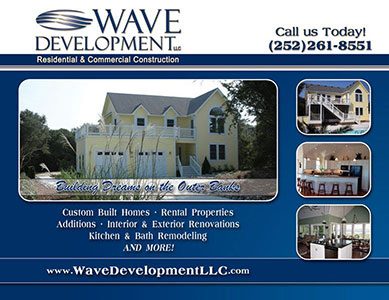 Wave Development Home Builder's Ad