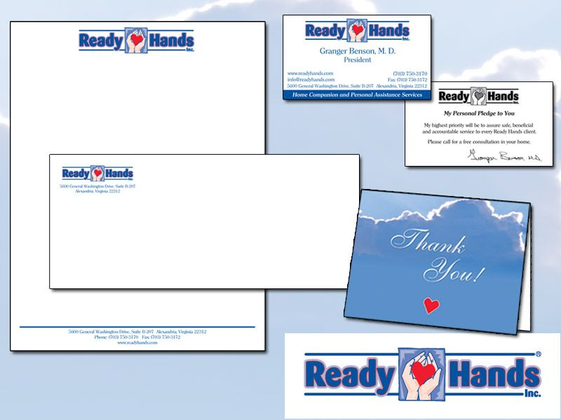Ready Hands Stationery