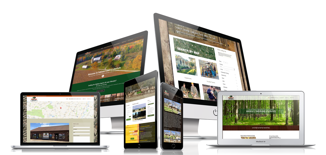 Land Sales Professional Websites