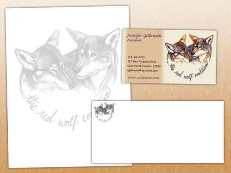 Red Wolf Coalition Stationery