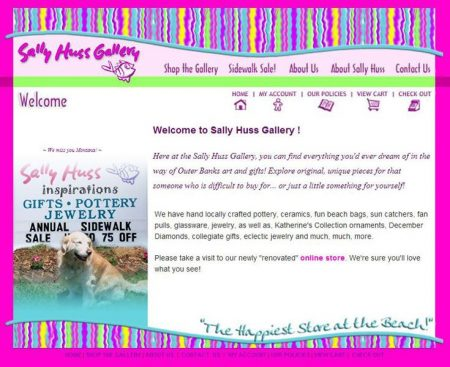 Sally Huss Art Gallery Online Store