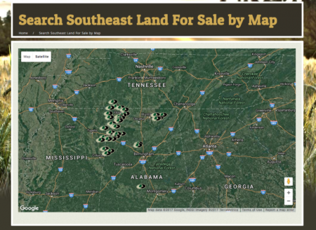 An interactive map that plots all of your properties at their GPS locations on one map. Visitors can hover the listing icon for more information on that property, and click through to view that listing.