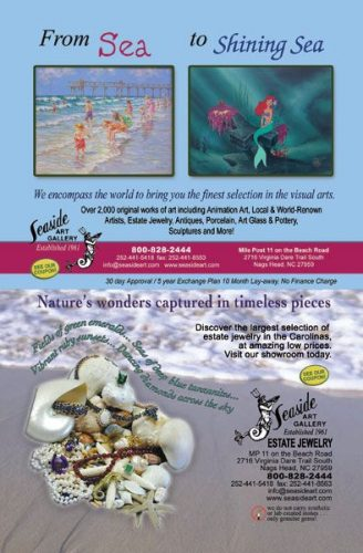 Seaside Art Gallery Ads