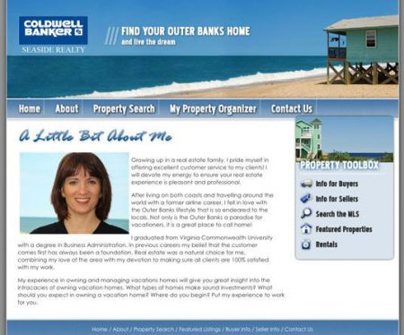 Lisa Strydom, Coldwell Banker MLS Real Estate Website