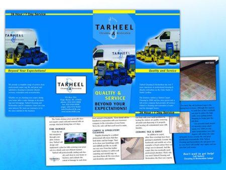 Tarheel Cleaning and Restoration Quadfold