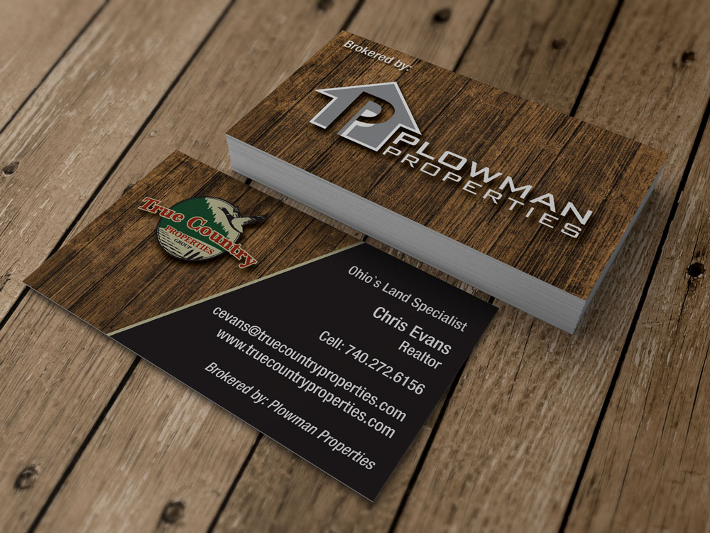 True Country Properties Business Card
