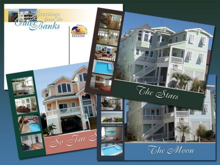 Vacation Estates Postcard Campaign