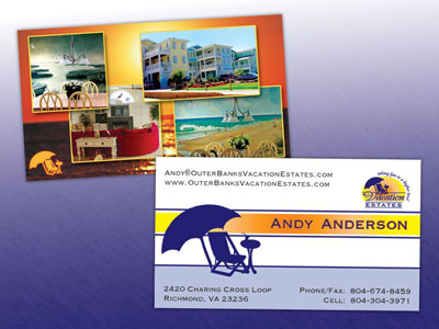 Outer Banks Vacation Estates Business Card