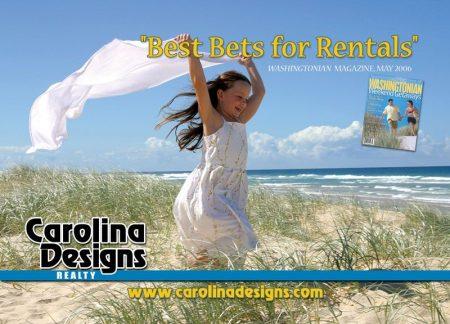 Carolina Designs Washingtonian Postcard