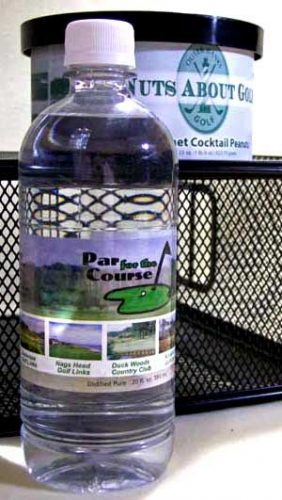 Par for the Course Water Labels