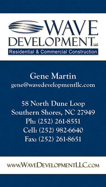 Wave Development Business Card Front