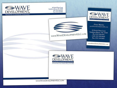 Wave Development Stationery