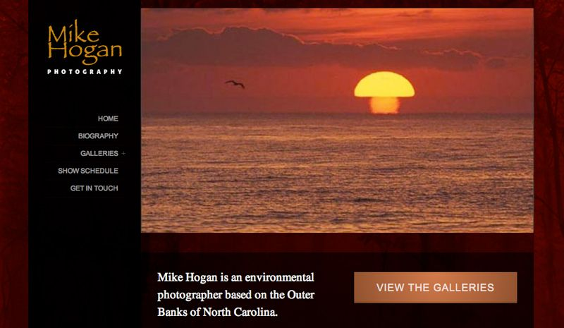 Mike Hogan Photography Website